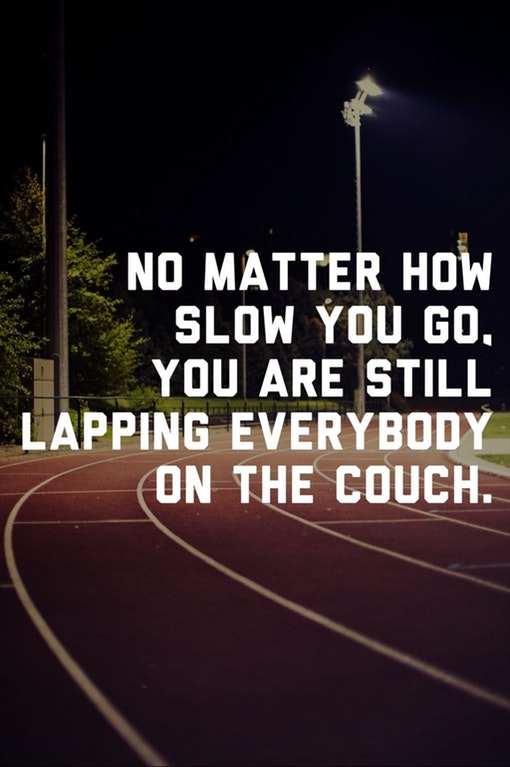 [Image] No matter how slow you go