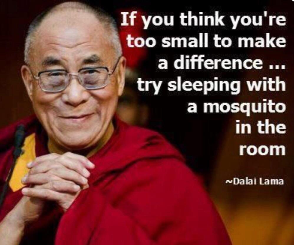 [image] if you think you're too small