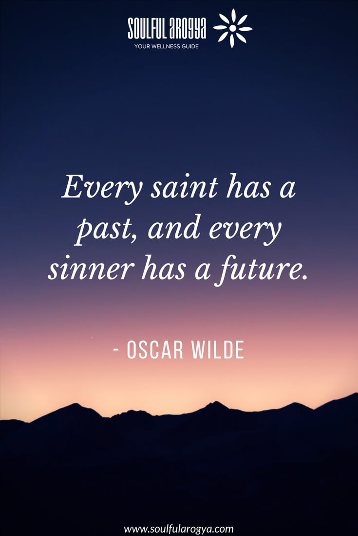 """Every saint has a past…"" – Oscar Wilde [735×1102]"