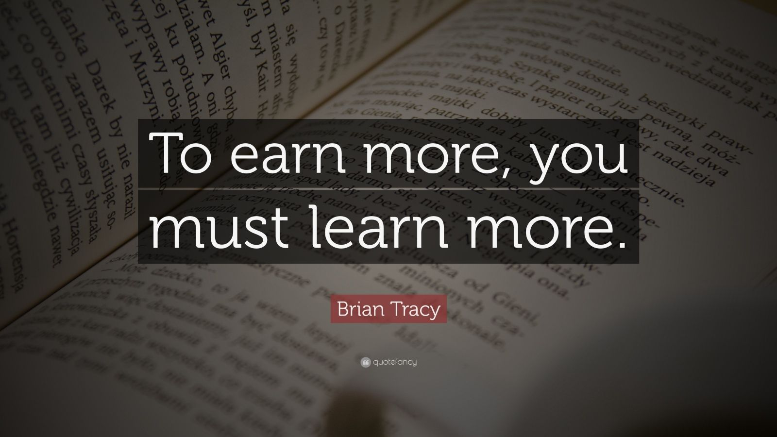 [Image] Brian Tracy keeps things simple.