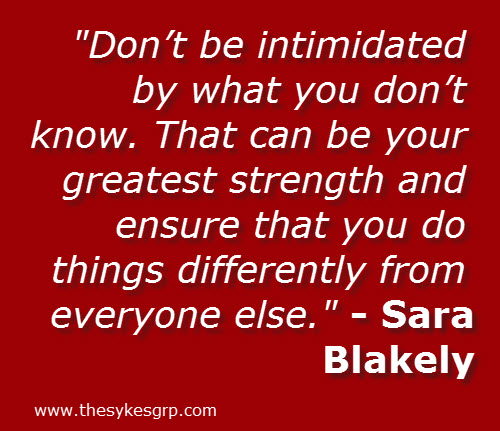 [Image] Don't be intimidated by what you don't know