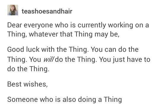 [Image] Just do the Thing