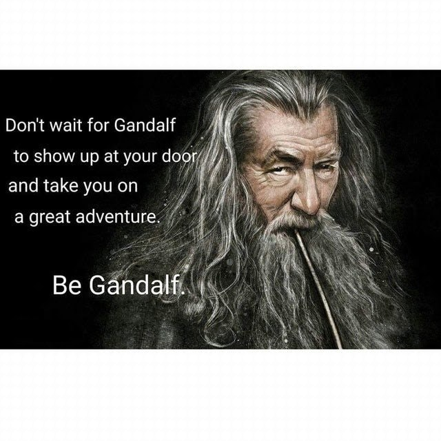 [Image] Be Gandalf