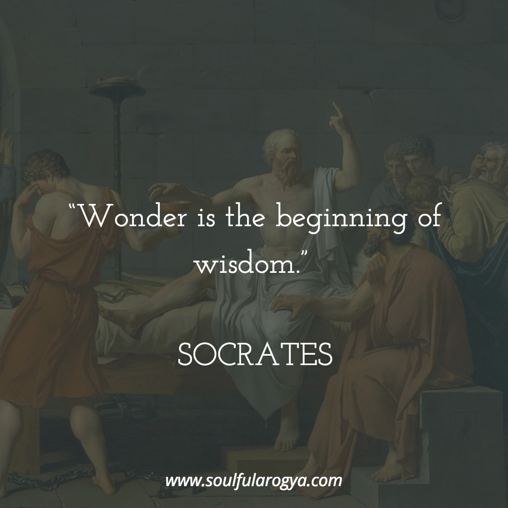 """Wonder is the beginning of wisdom."" – Socrates [1024×1024]"
