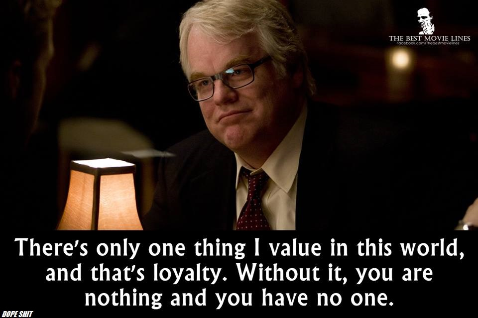 """There is one thing I value in this world… – Philip Seymour Hoffman [960×639]"