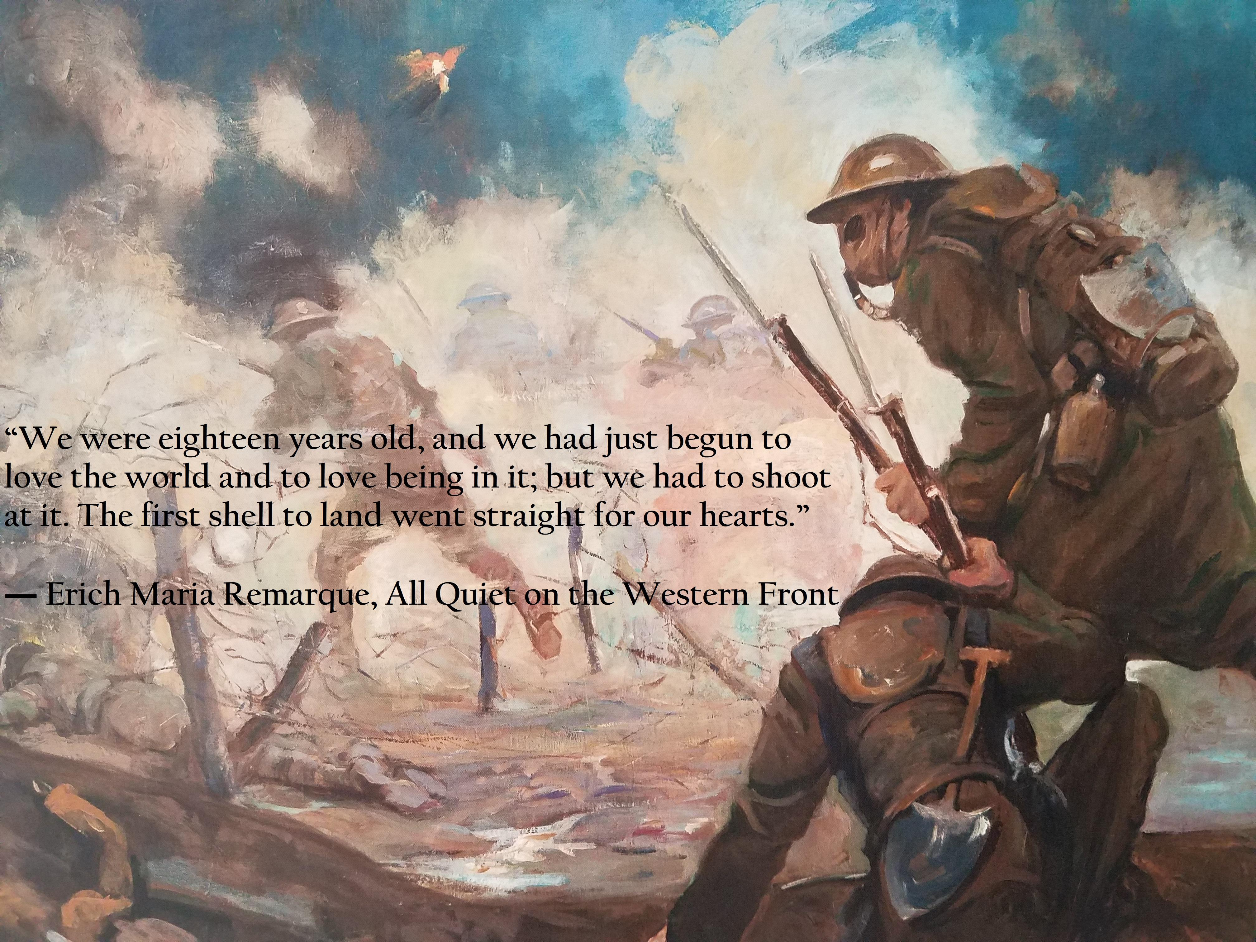 """We had just begun to love the world…"" – Erich Maria Remarque, All Quiet on the Western Front [4032 x 3024]"