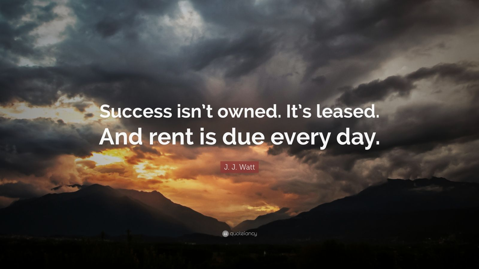 [Image] Rent is due every day