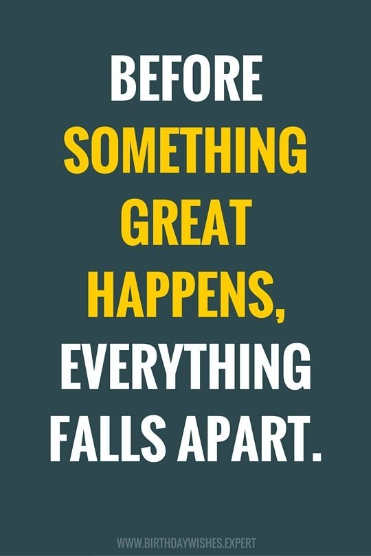 [Image] Everything falls apart