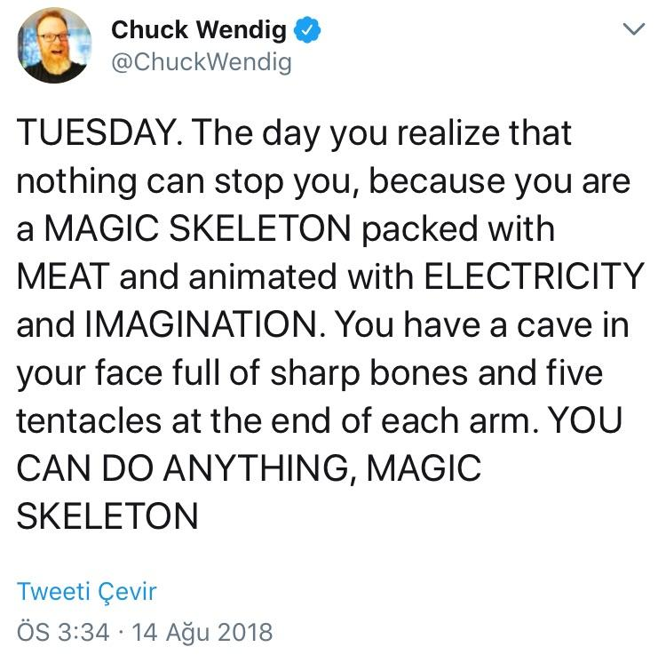 [Image] You are a magic skeleton