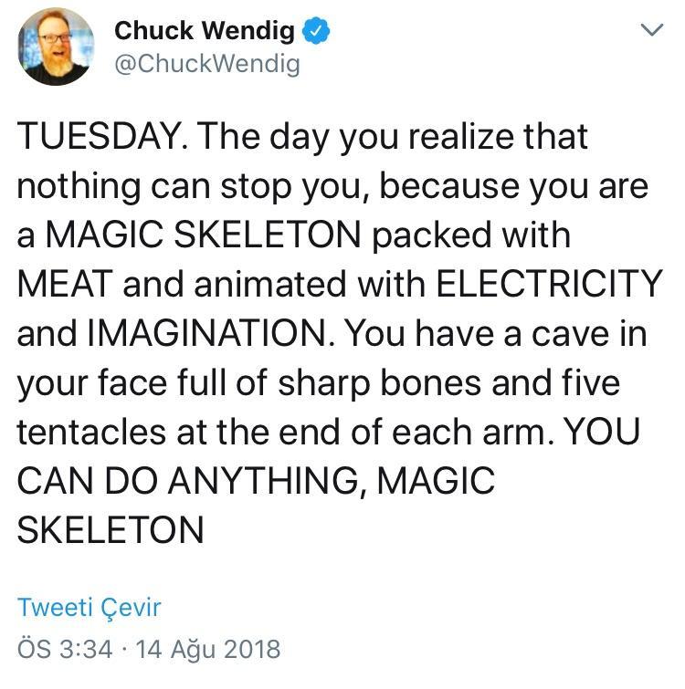 [Image] You are a magic skeleton