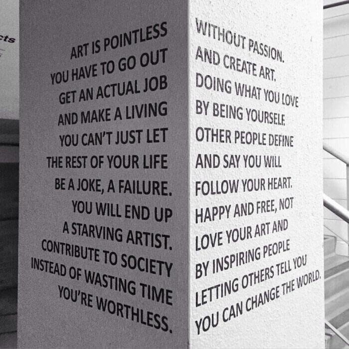 [Image] Not sure if this has been here, but heres an artist's inspirational message