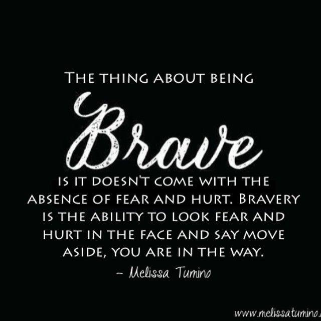 [image] The Thing About Being Brave