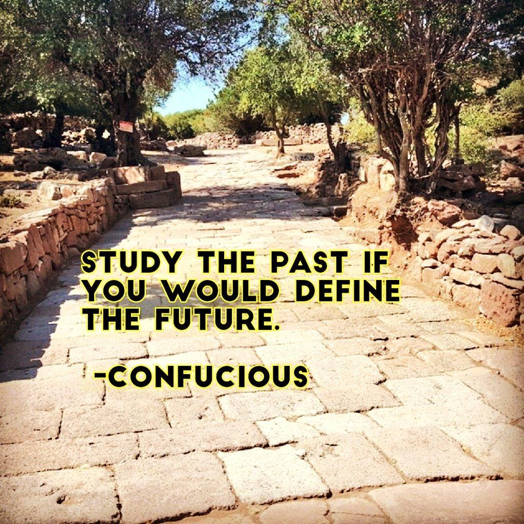 "Confucious: ""Study the past if you would define the future"". [1080×1080]"
