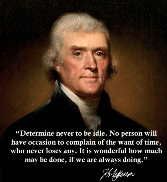 [Image] Determine never to be idle