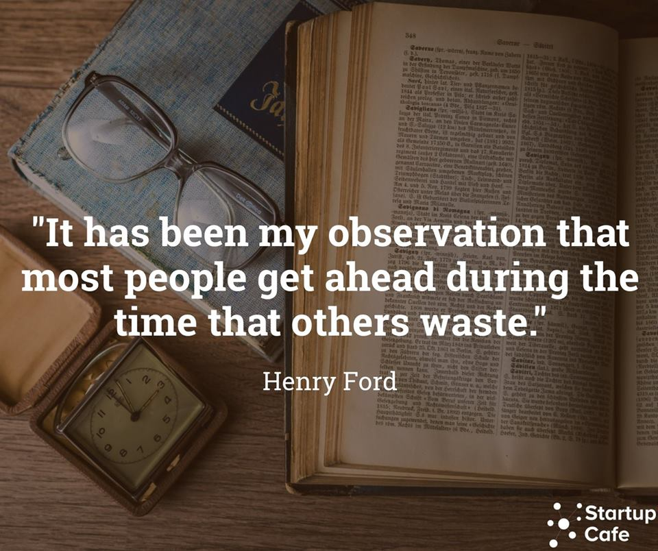 """It has been my observation that most people get ahead…"" – Henry Ford [960×804]"