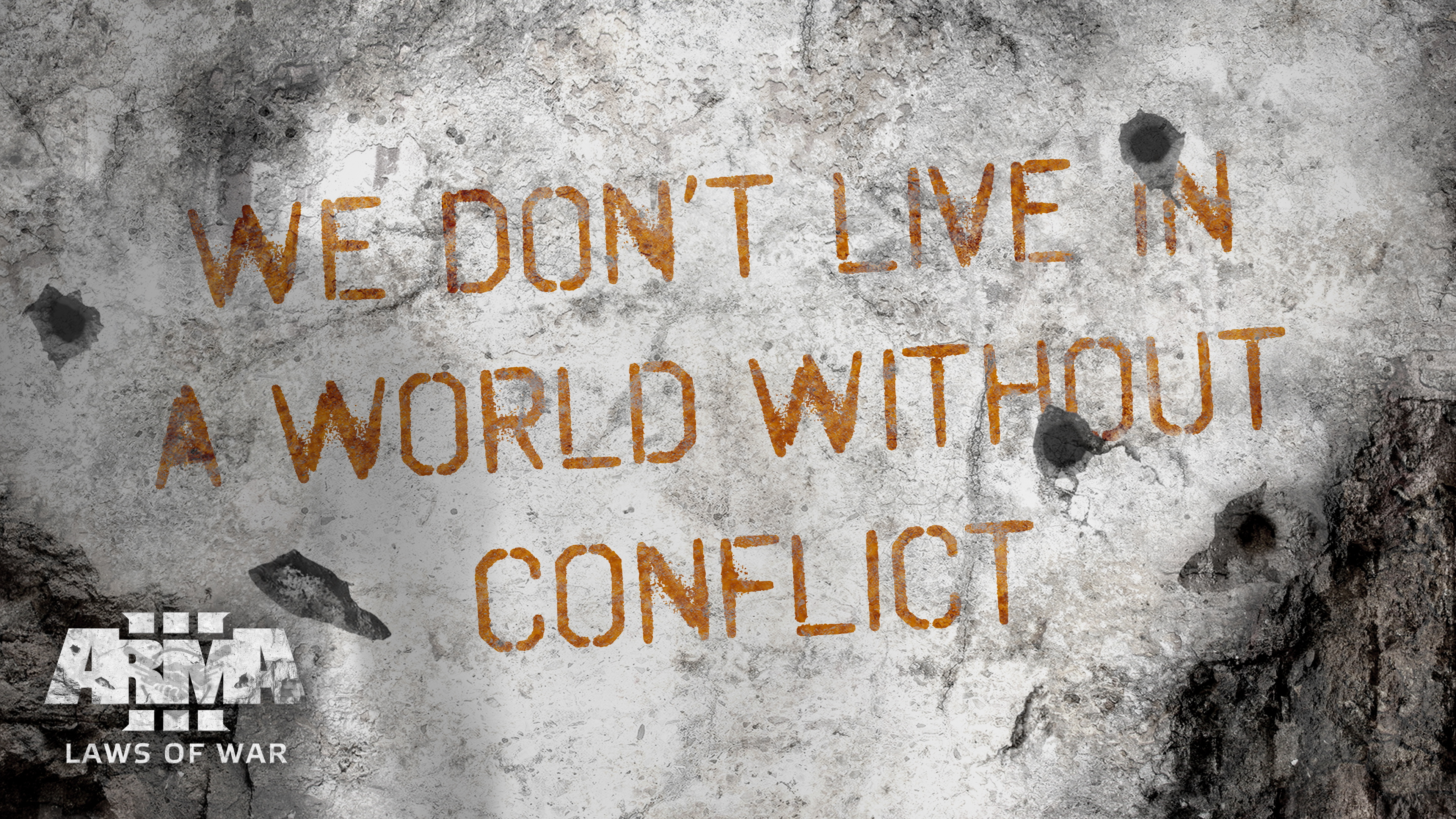 We don't live in a world without conflict -ArmA3 Laws of war DLC [3840 x 2160]