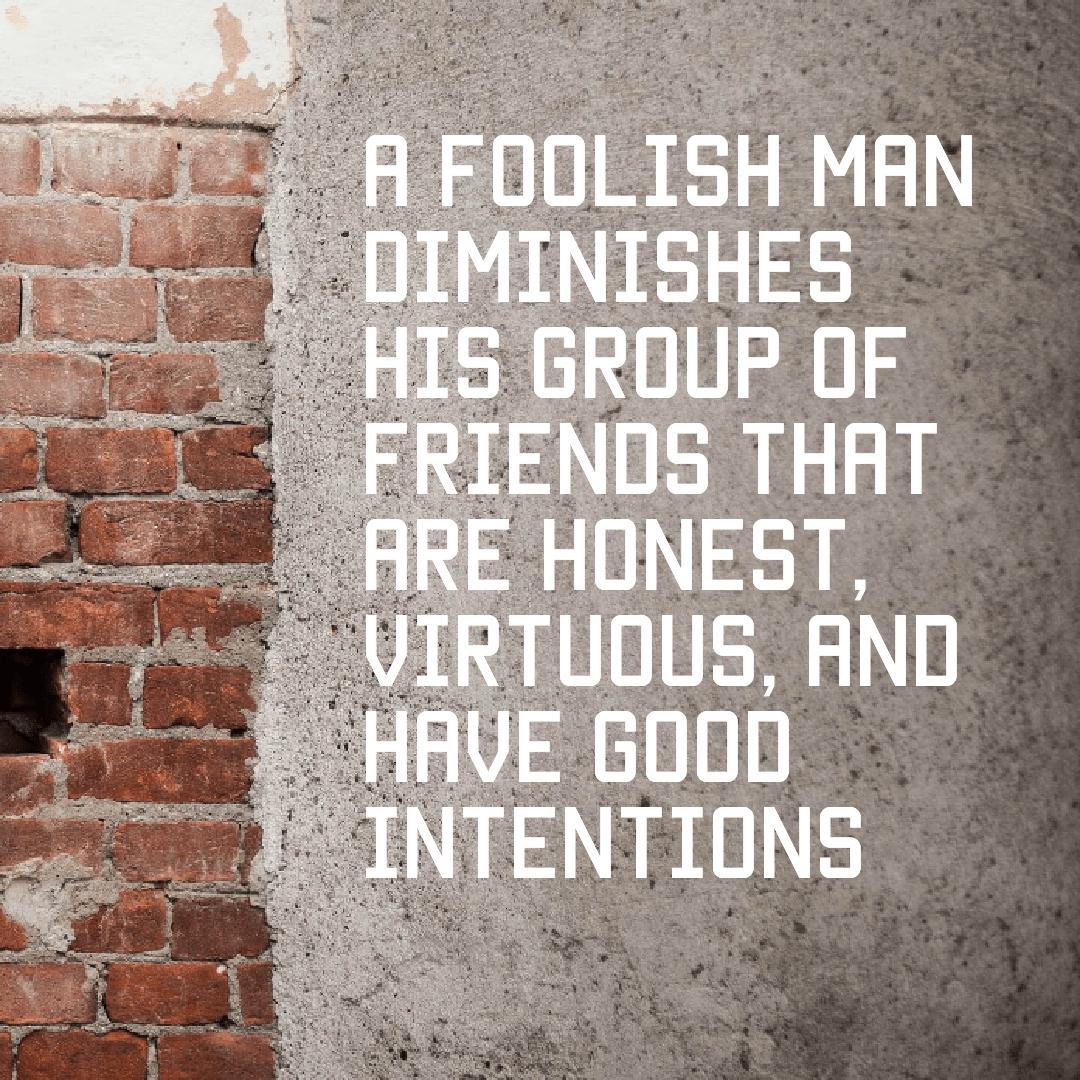 A foolish man [oc] [1080 x 1080]