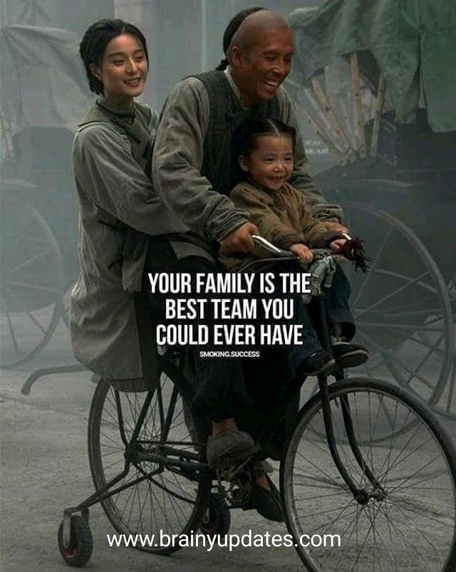 [Image] Your family is the best team you could ever have…