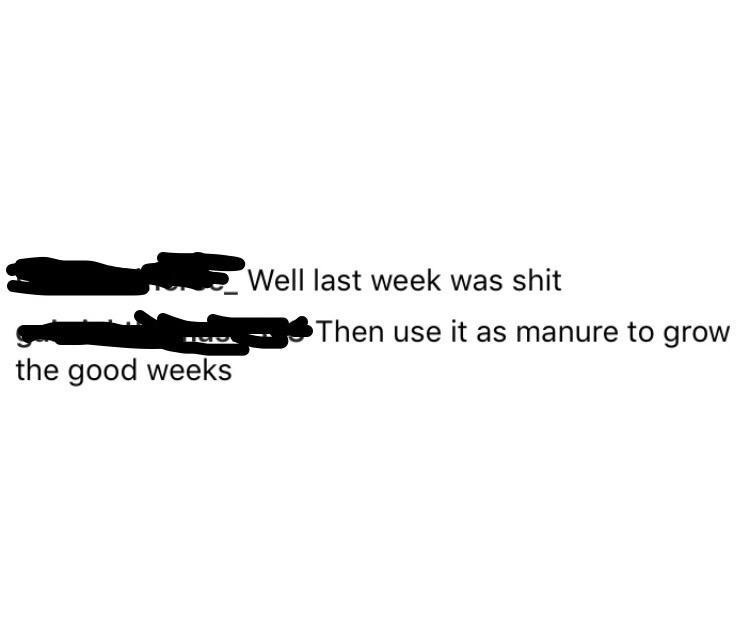 [Image] Last week was shit.