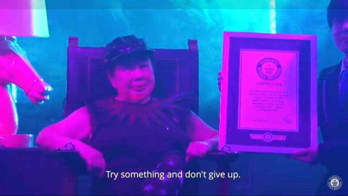 [image] DJ Sumirock. Guinness Record holder of the oldest club DJ at 84 years old.