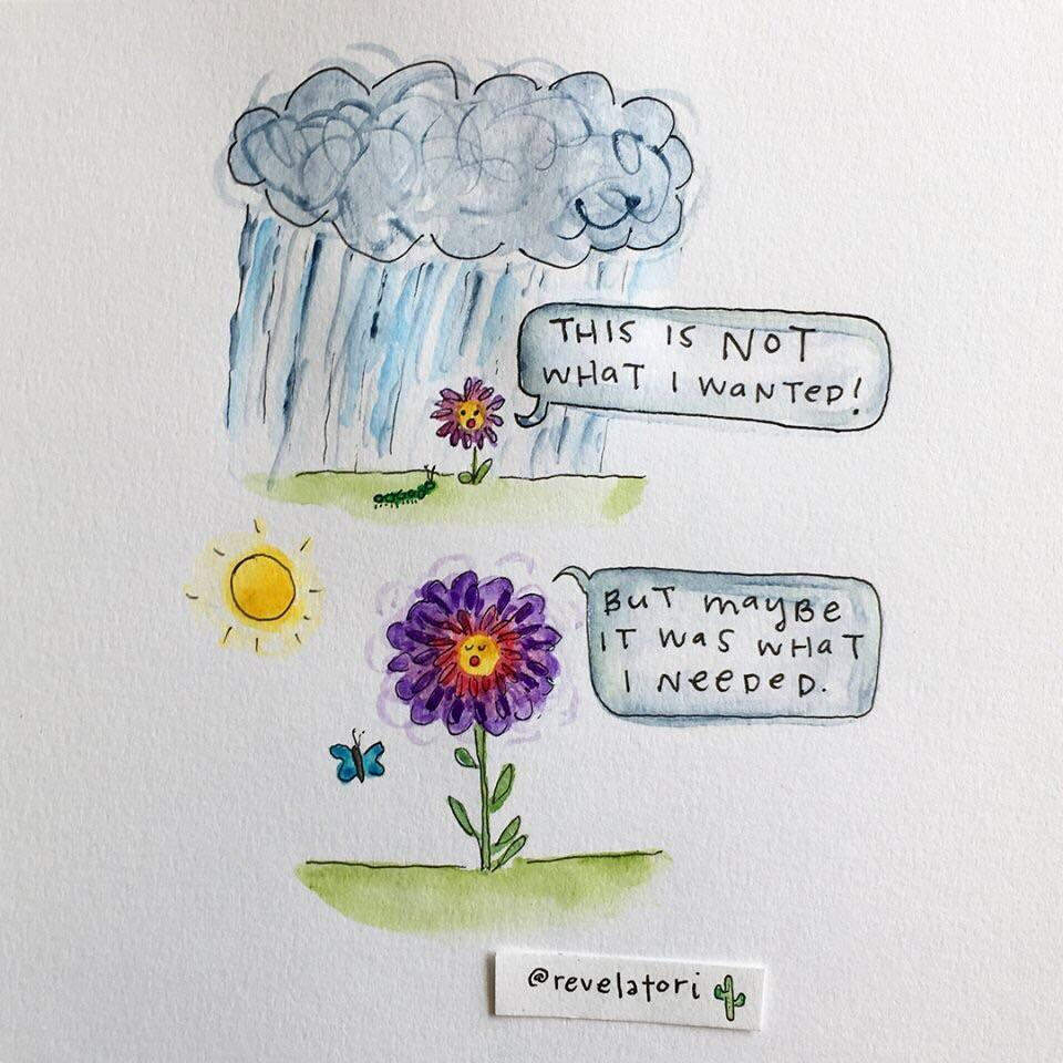 [Image] The Flower's struggle was necessary. Keep grinding. 🌸