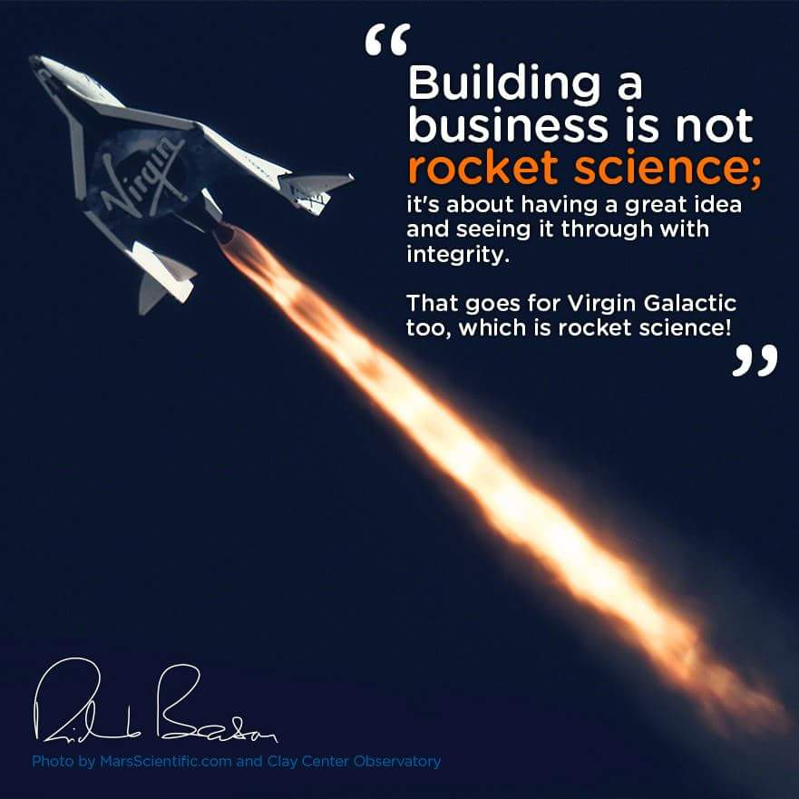[Image] Building a business is not rocket science