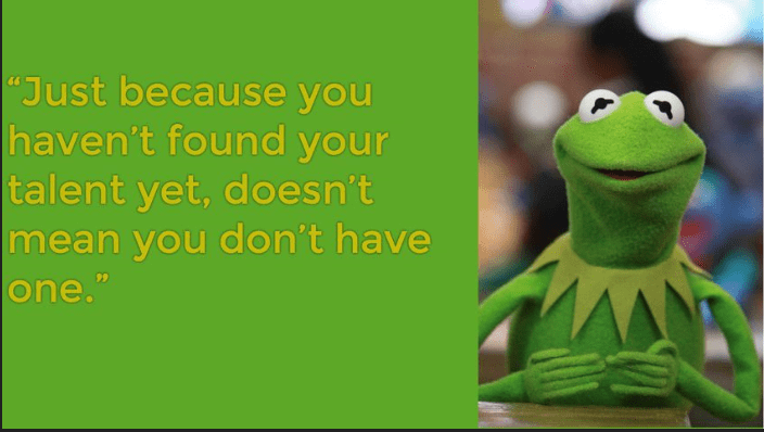 [Image] Kermit the frog with the inspirational shit