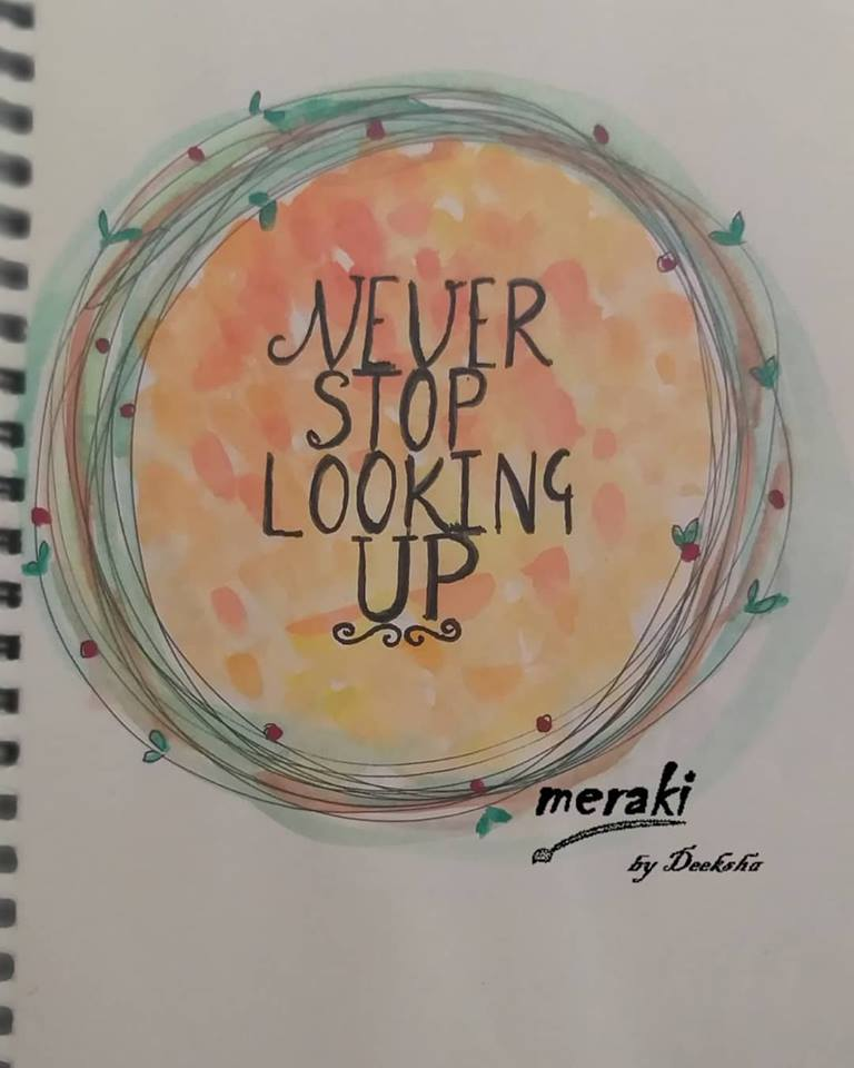 [Image] never stop looking up