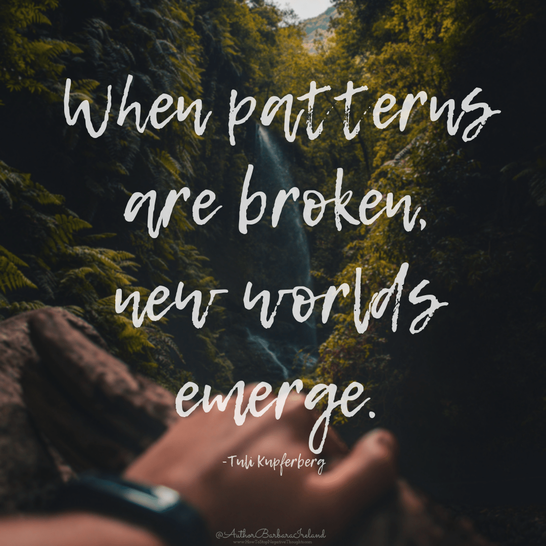 """When patterns are broken, new worlds emerge.""- Tuli Kupferberg [1080×1080 ][OC]"