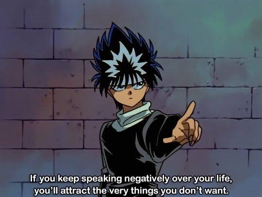 [Image] Don't live in negativity