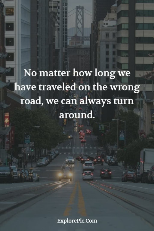 [Image] We can always turn around