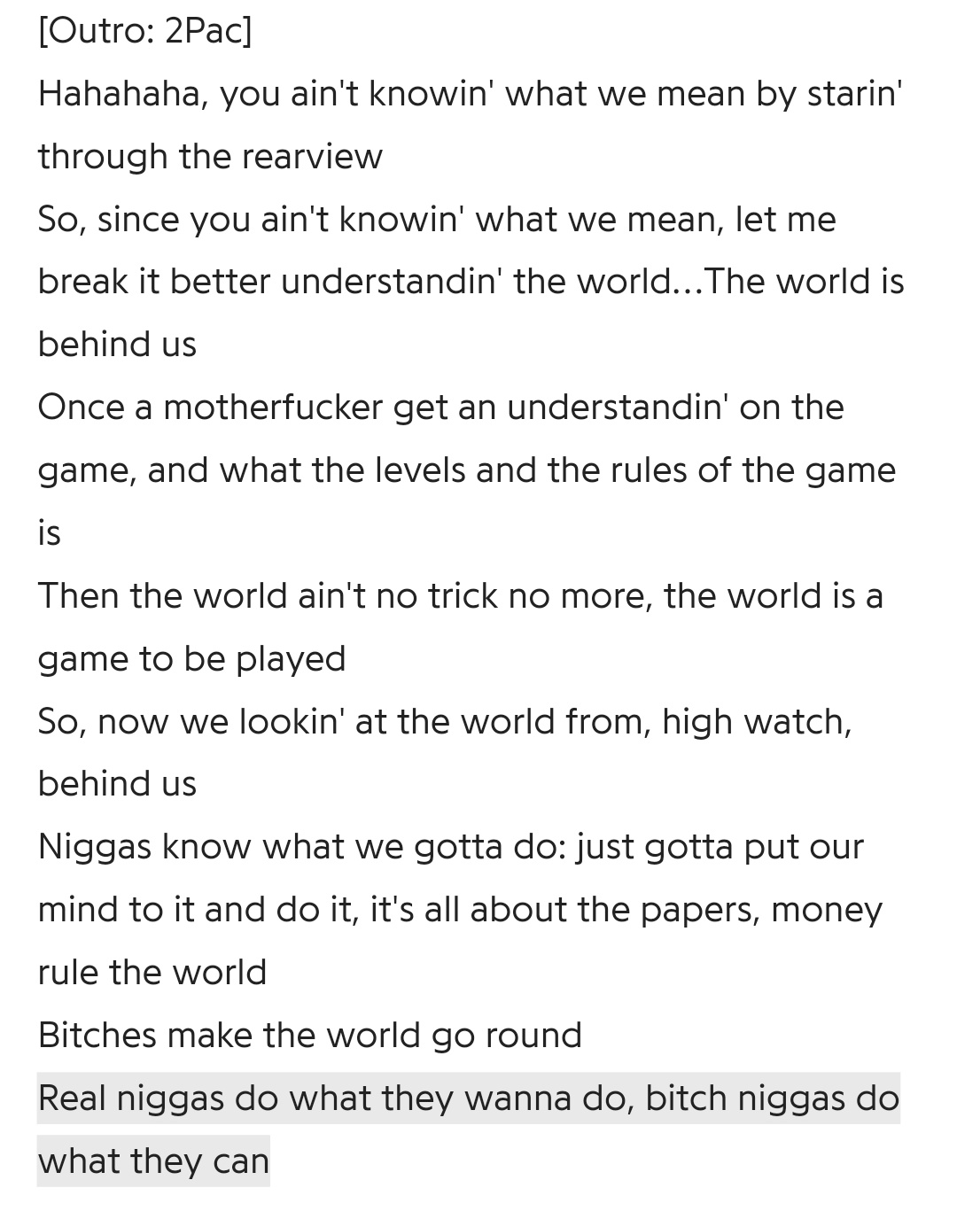 [Image] Life is a game, just learn the rules and play to win.