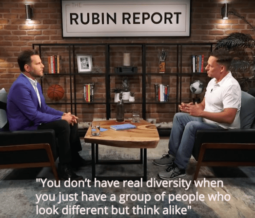 Peter Thiel on diversity – The Rubin Report 9/12/18