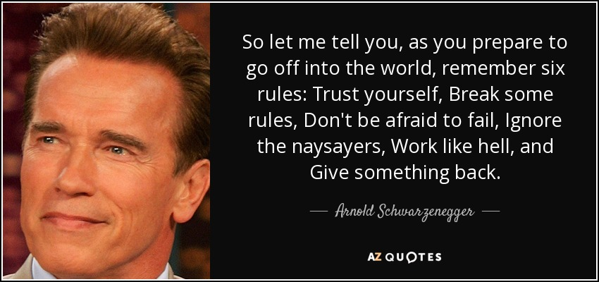 [Image] Advice from the Terminator