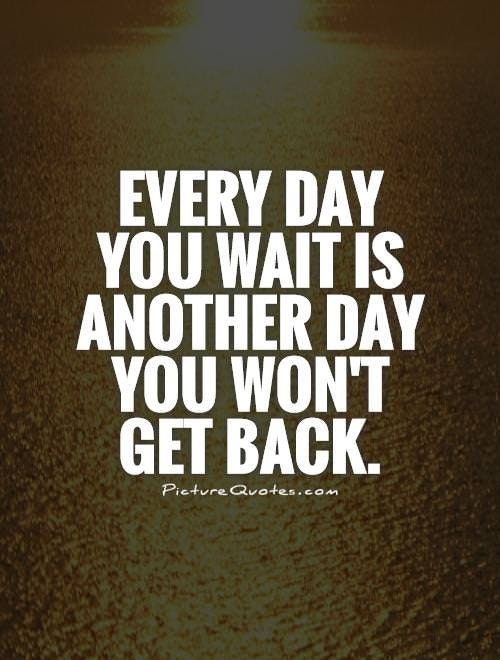 [Image] Stop waiting