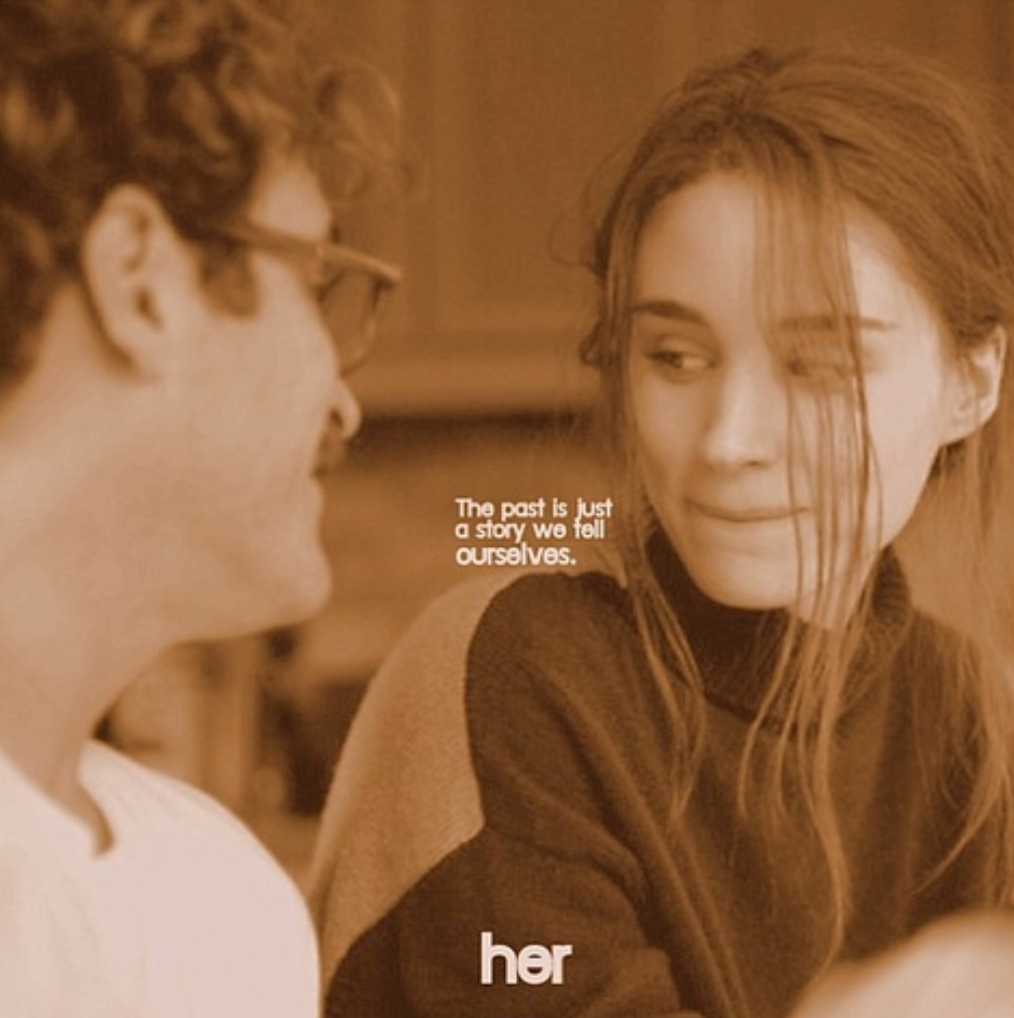 """Play a melancholy song."" [Her, 2013]"