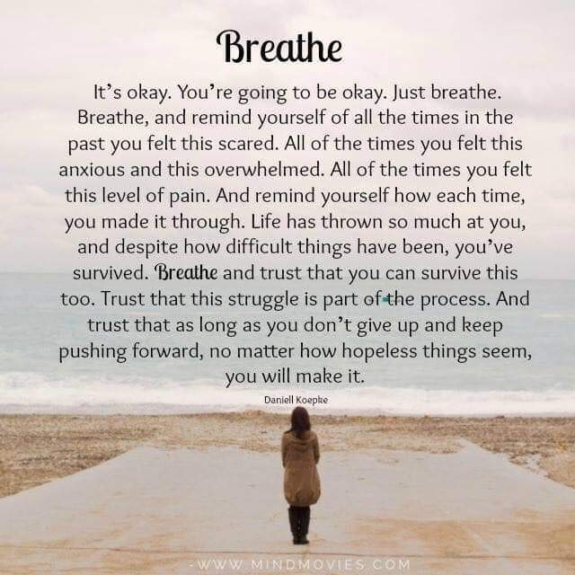 Keep moving forward and breathe [Image]