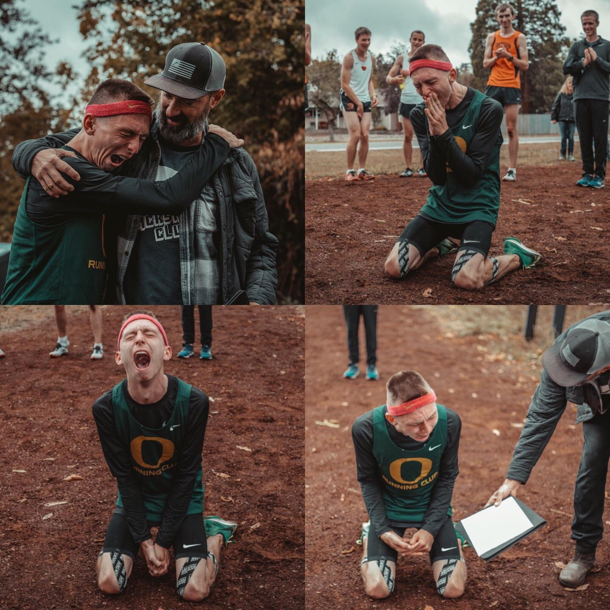 [Image] Justin Gallegos becomes Nike's first professional athletes with cerebral palsy when they surprise him with a contract. Beat your own limits.