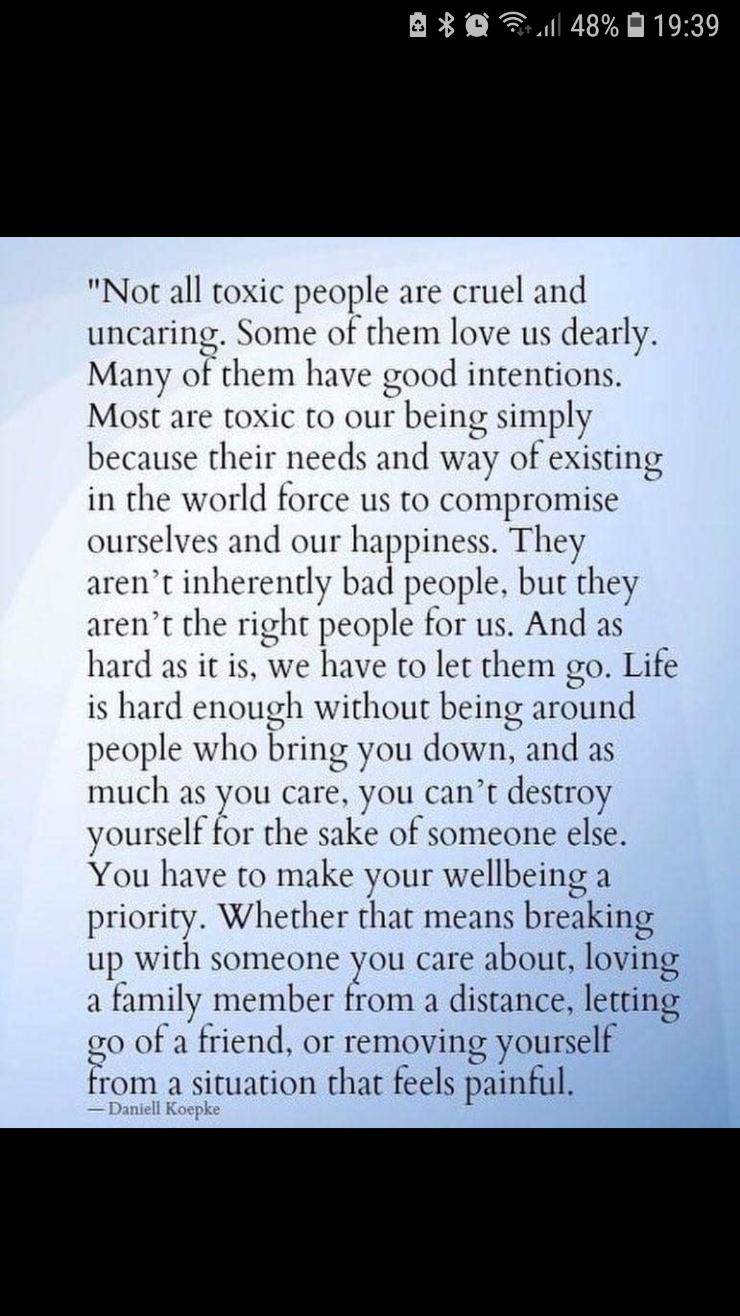 [Image] Letting go of toxic relationships