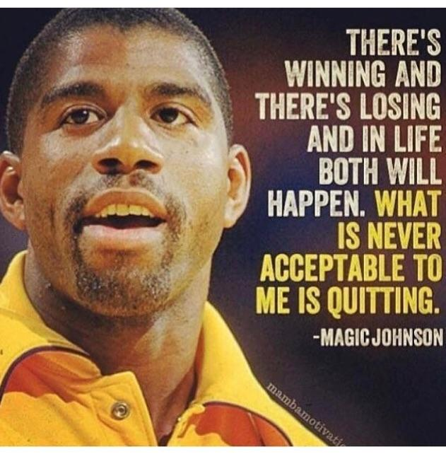 [Image] Quitting is never acceptable