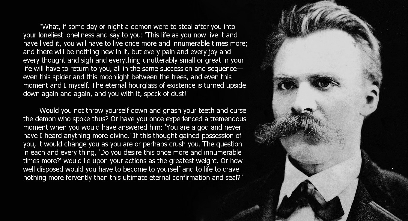 Friedrich Nietzsche – The Greatest Weight [1361×738]