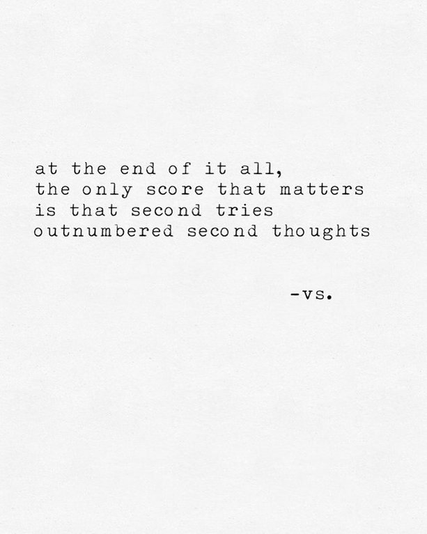 [Image] The only score that matters