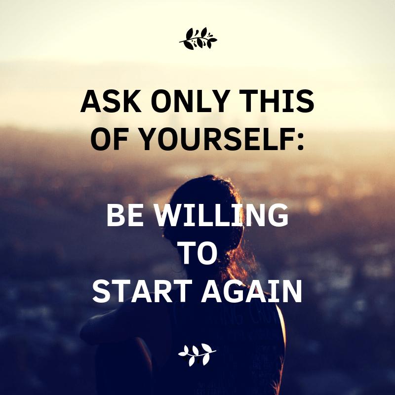 [Image] Start Again – Me