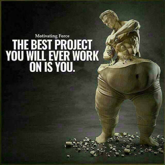 [Image] The best Project you will ever work is on You