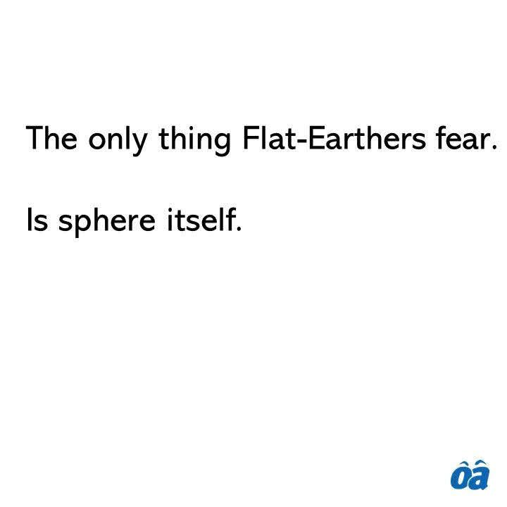 Flat-Earthers [720 x 720]