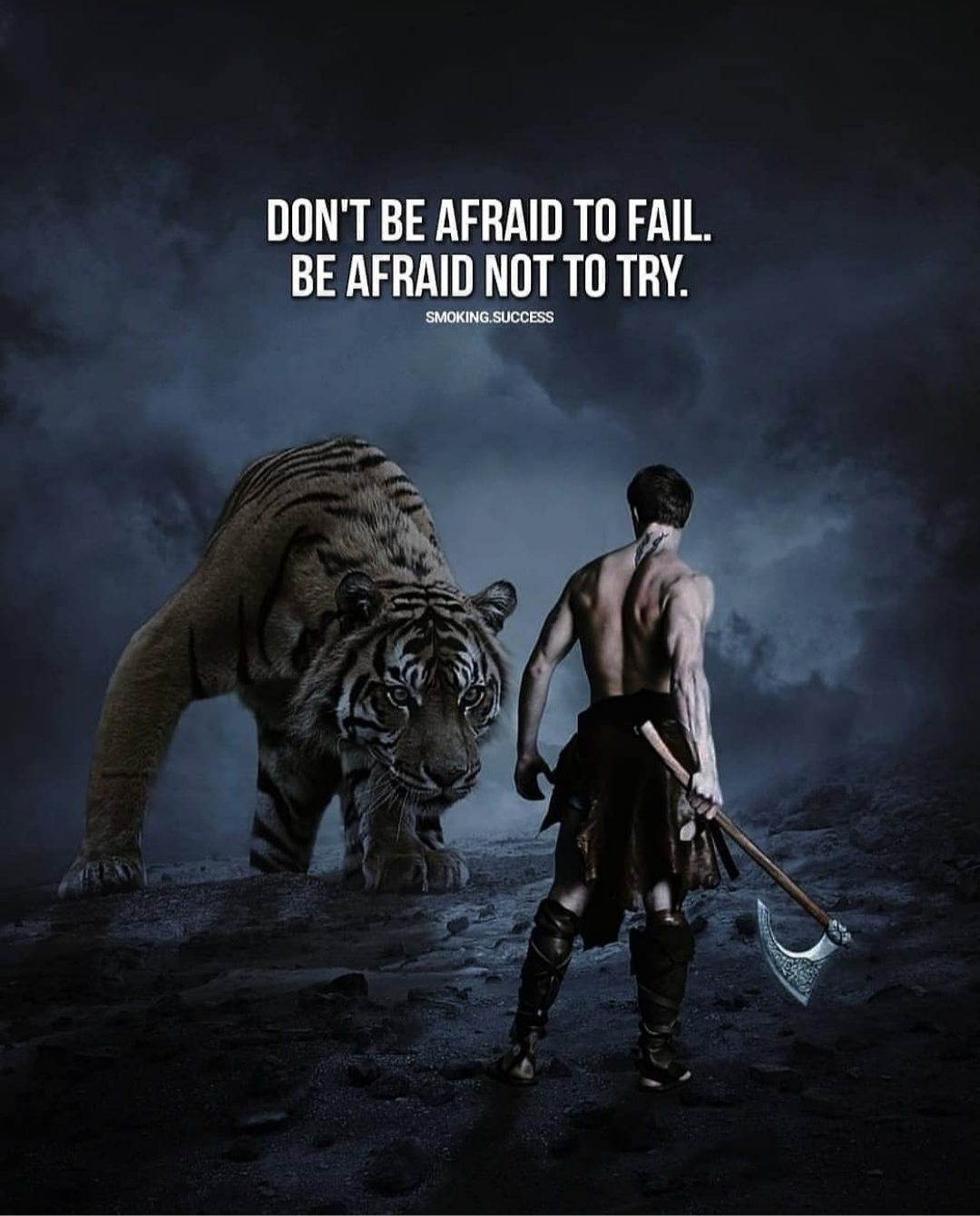 Don't be afraid to fail be afraid not to try – Michael Jordan[1080*1339]