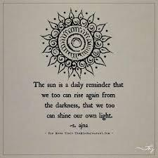 [Image] The Sun is a daily reminder