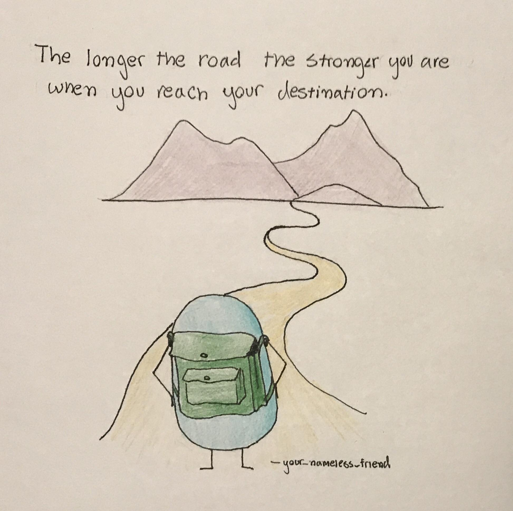 [image] long roads