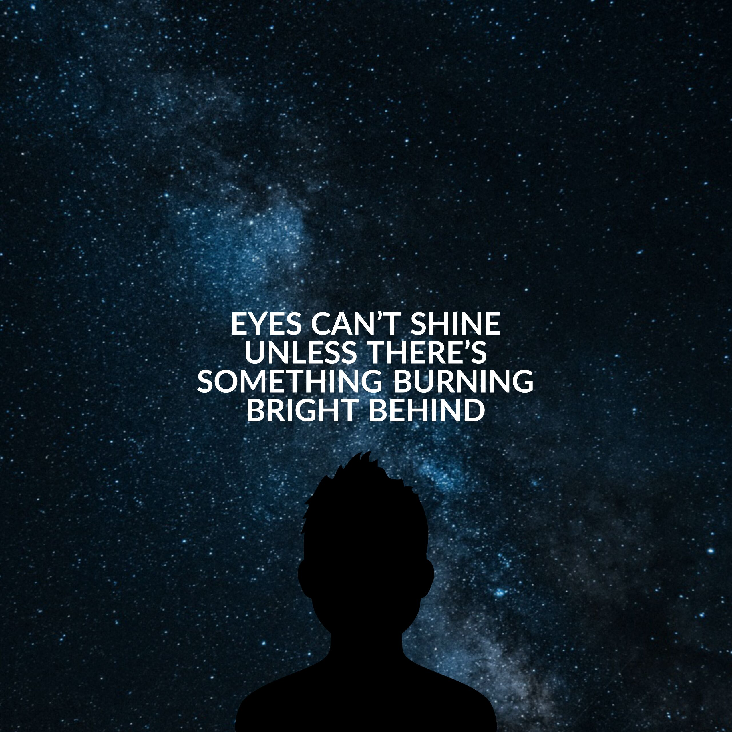 Eyes Can't Shine… ~One Direction [2560×2560]