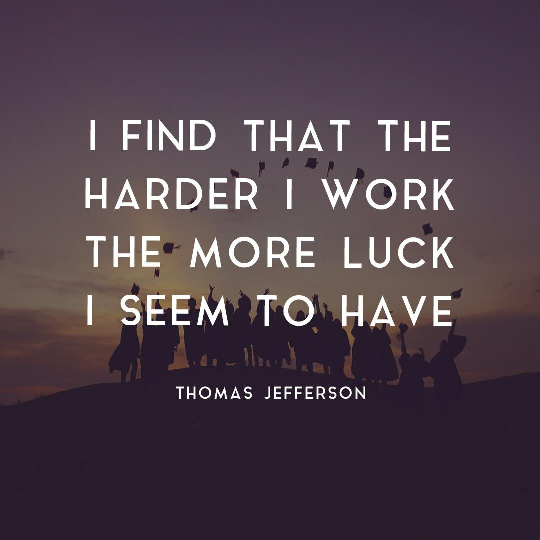 "[Image] What ""having luck"" really means"